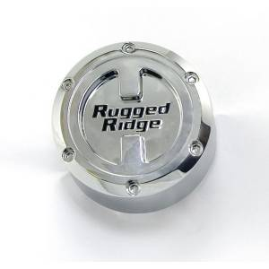 Wheels & Tires - Accessories - Rugged Ridge - Rugged Ridge Wheel Center Cap, for 17x9 Rugged Ridge Wheels 15201.50