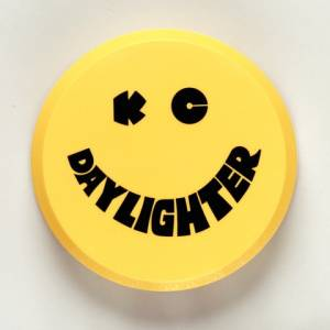 "Lighting - Lighting Accessories - KC HiLiTES - KC HiLiTES 6"" Plastic Cover - KC #5202 (Yellow with Black KC Daylighter Logo) 5202"