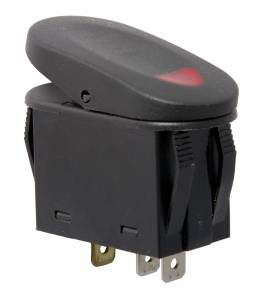 Rugged Ridge - Rugged Ridge 2-Position Rocker Switch, Red 17235.02