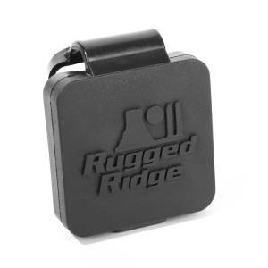 Rugged Ridge - Rugged Ridge 2 Inch Receiver Hitch Plug, Black, Rugged Ridge Lo 11580.26