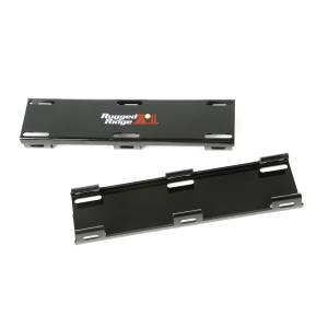 Rugged Ridge - Rugged Ridge 20 Inch LED Light Bar Cover Kit, Black 15210.66