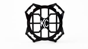 "Lighting - Lighting Accessories - KC HiLiTES - KC HiLiTES 4"" LZR Stone Guard - Black - KC #7218 7218"