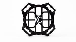 "KC HiLiTES - KC HiLiTES 4"" LZR Stone Guard - Black - KC #7218 7218 - Image 2"