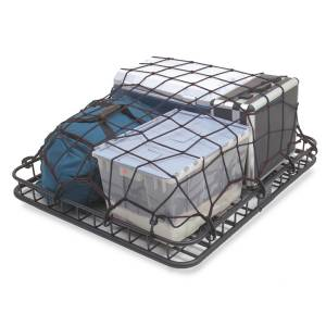 Interior - Storage & Cargo Baskets - Rugged Ridge - Rugged Ridge Universal Cargo Net, Rugged Ridge, Roof Rack Stret 13551.30