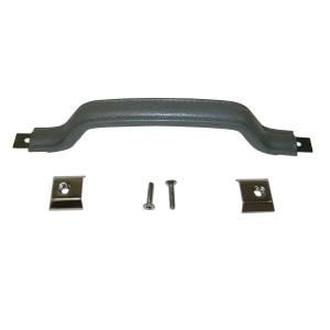 Omix-Ada Interior Door Handle Kit, Gray; 87-95 Jeep Wrangler YJ 11816.09
