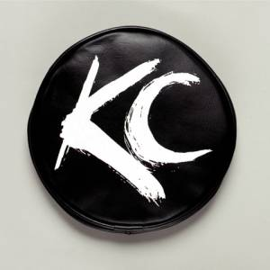 "KC HiLiTES - KC HiLiTES 6"" Vinyl Cover - KC #5117 (Black with White Brushed KC Logo) 5117 - Image 2"