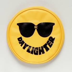 "KC HiLiTES - KC HiLiTES 6"" Vinyl Cover - KC #5205 (Yellow with Black Sun Glasses) 5205 - Image 2"