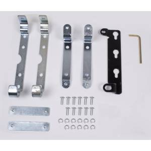 Winches - Winch Mounting & Accessories - Rugged Ridge - Rugged Ridge Solenoid Box Mounting Brackets, Rugged Ridge Winches 15103.26