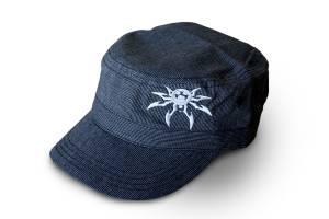 Apparel & Gear - Hats - Poison Spyder - Poison Spyder Poison Spyder Psc Grey Fidel Hat 50-46-215-G