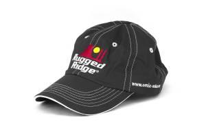 Apparel & Gear - Hats - Rugged Ridge - Rugged Ridge Hat, Rugged Ridge, Black and White, Omix-ADA.com 14080.25