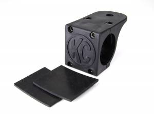 "Lighting - Mounts & Wiring - KC HiLiTES - KC HiLiTES Tube Clamp Mount Bracket for 1.75"" to 2"" Round Light Bars and Roof Racks 7307"