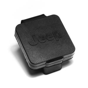 Towing Accessories - Accessories - Rugged Ridge - Rugged Ridge 2 Inch Hitch Plug, Jeep Logo 11580.25