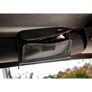 Interior - Roll Cages - Rugged Ridge - Rugged Ridge Sunglass Holder, Storage Pouch; 55-16 Jeep CJ/Wrangler YJ/TJ/JK 12101.52