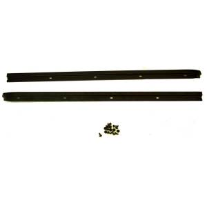 Interior - Handles - Rugged Ridge - Rugged Ridge Windshield Channel, Drill; 76-95 Jeep CJ/Wrangler YJ 13308.01