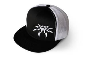 Apparel & Gear - Hats - Poison Spyder - Poison Spyder Poison Spyder Snapback - Black White 50-46-280