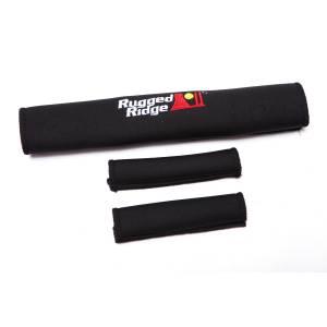 Rugged Ridge Neoprene Door and Grab Handle Covers, Black; 87-95 Jeep Wrangler YJ 13305.50