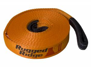 Recovery Gear - Recovery Kits - Rugged Ridge - Rugged Ridge ATV/UTV Recovery Strap, 1 Inch x 15 feet 15104.04