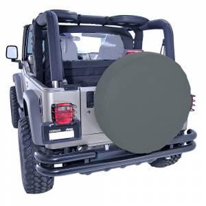 Rugged Ridge - Rugged Ridge 27-29 Inch Tire Cover, Black Denim 12801.15