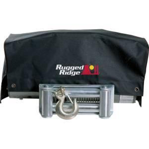 Recovery Gear - Accessories - Rugged Ridge - Rugged Ridge Winch Cover, 8500 and 10500 winches 15102.02