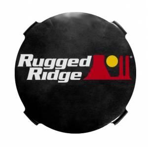 Lighting - Fog Lights - Rugged Ridge - Rugged Ridge 7 Inch Off Road Fog Light Cover, Pair 15210.51