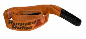 Winches - Winch Mounting & Accessories - Rugged Ridge - Rugged Ridge Tree Trunk Protector, 2 Inch x 6 feet 15104.11