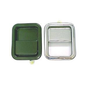 Omix-Ada Paddle Door Handle, Black; 81-06 Jeep CJ/Wrangler YJ/TJ 11812.05