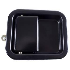 Omix-Ada Paddle Door Handle, Black; 81-06 Jeep CJ/Wrangler YJ/TJ 11812.06