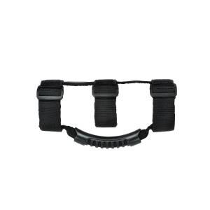 Rugged Ridge Ultimate Grab Handles, Black; 55-16 Jeep CJ/Wrangler YJ/TJ/JK 13505.04