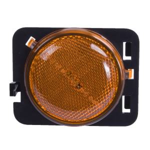 Lighting - Cab & Marker Lights - Omix-Ada - Omix-Ada Side Marker Light, Amber, LH; 07-16 Jeep Wrangler 12401.25