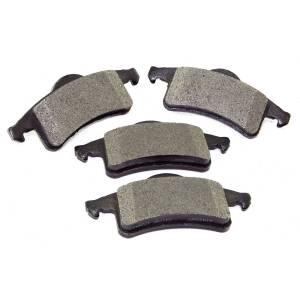 Omix-Ada Brake Pads, Rear, Titanium; 99-04 Jeep Grand Cherokee WJ 16729.04