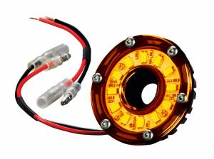 Interior - Misc. Interior Parts - KC HiLiTES - KC HiLiTES Cyclone LED Light - KC #1352 (Amber) 1352