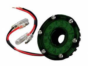 Interior - Misc. Interior Parts - KC HiLiTES - KC HiLiTES Cyclone LED Light - KC #1355 (Green) 1355