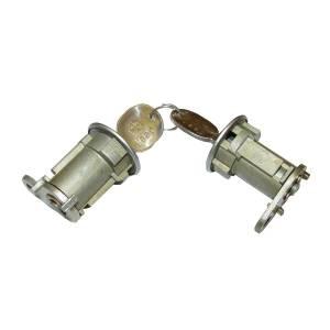 Exterior - Misc. Accessories - Omix-Ada - Omix-Ada Door Lock Cylinder Set; 76-90 Jeep CJ/XJ/MJ/YJ 11813.02