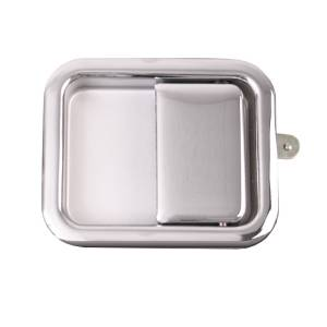 Omix-Ada Paddle Door Handle, Chrome; 81-06 Jeep CJ/Wrangler YJ/TJ 11812.03