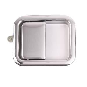 Omix-Ada Paddle Door Handle, Chrome; 81-06 Jeep CJ/Wrangler YJ/TJ 11812.04