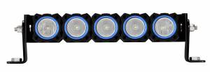 Lighting - Mounts & Wiring - KC HiLiTES - KC HiLiTES KC FLEX Bezels - Blue ED Coated (5 pack) 30563