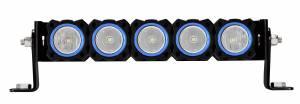 KC HiLiTES - KC HiLiTES KC FLEX Bezels - Blue ED Coated (5 pack) 30563 - Image 1