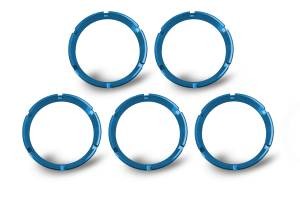 KC HiLiTES - KC HiLiTES KC FLEX Bezels - Blue ED Coated (5 pack) 30563 - Image 3