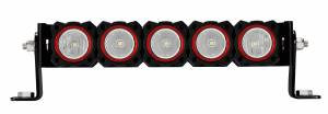 Lighting - Mounts & Wiring - KC HiLiTES - KC HiLiTES KC FLEX Bezels -  Red ED Coated (5 pack) 30564
