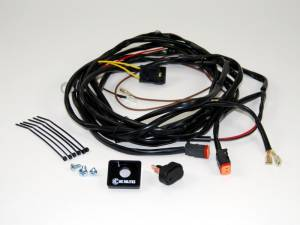 Electrical - Switches & Panels - KC HiLiTES - KC HiLiTES Wiring Harness for Two Lights with 2-Pin Deutsch Connectors - KC #6308 6308