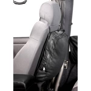 Tonneau Covers & Accessories - Truck Bed Accessories - Rugged Ridge - Rugged Ridge Seat Back Trail Bag, Detachable; 76-16 Jeep CJ/Wrangler YJ/TJ/JK 13551.25