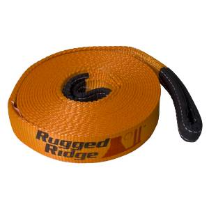 Recovery - Winch Lines - Rugged Ridge - Rugged Ridge Recovery Strap, 3 Inch x 30 feet 15104.01