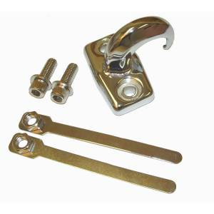 Recovery Gear - Hooks - Rugged Ridge - Rugged Ridge Rear Tow Hook, Chrome; 97-06 Jeep Wrangler TJ 11303.02