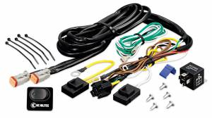 Electrical - Switches & Panels - KC HiLiTES - KC HiLiTES Wiring Harness with 40 Amp Relay and LED Rocker Switch - KC #6315 6315