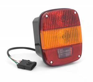 Lighting - Tail Lights - Omix-Ada - Omix-Ada Tail Light Export; 97-06 Jeep Wrangler TJ 12403.43