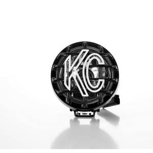 "KC HiLiTES - KC HiLiTES 4"" Rally 400 Halogen Single Light - Black - KC #1490 (Spread Beam) 1490 - Image 3"