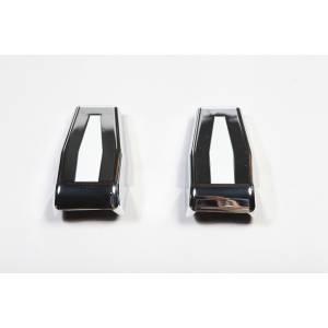 Tonneau Covers & Accessories - Truck Bed Accessories - Rugged Ridge - Rugged Ridge Liftgate Hinge Covers, Chrome; 07-16 Jeep Wrangler JK 13311.25
