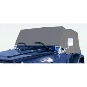 Tonneau Covers & Accessories - Truck Bed Accessories - Rugged Ridge - Rugged Ridge Weather Lite Cab Cover; 76-06 Jeep CJ/Wrangler YJ/TJ 13321.01