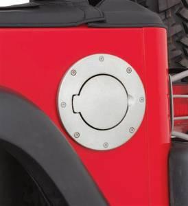 Smittybilt - Smittybilt Billet Style Gas Cover 75000