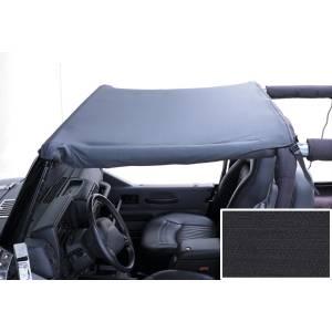 Exterior - Soft Tops - Rugged Ridge - Rugged Ridge Summer Brief Header, Black Denim; 97-06 Jeep Wrangler TJ 13580.15